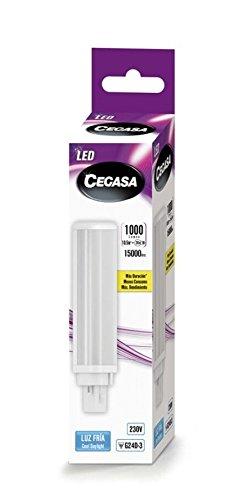 LAMPARA CEGASA LED PLC G24d-3 10,5w 1000 LM 120º 5000K