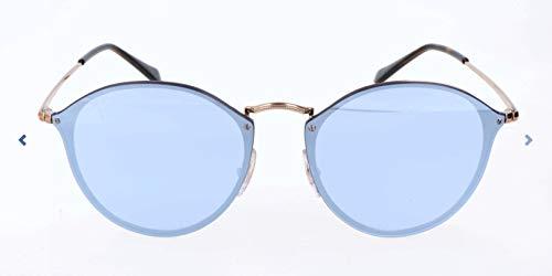 Ray-Ban Rayban Unisex-Erwachsene Sonnenbrille 3574n Copper/Darkvioletmirrorsilver, 59