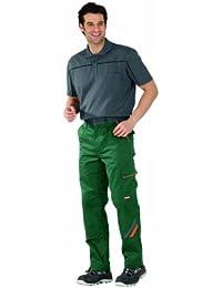 Planam Bundhose Visline, Größe 27, 1 Stück, grün / orange / schiefer, 2422027