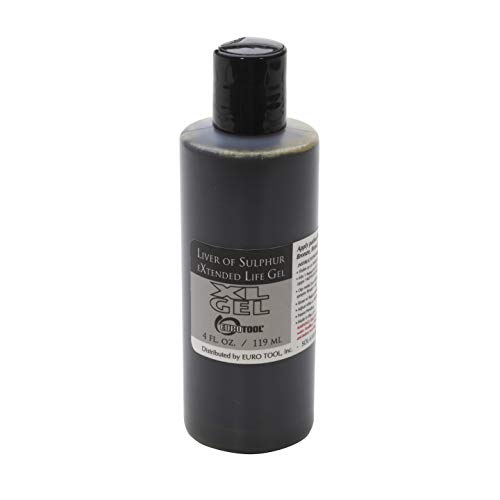 Extended Life Liver of Sulfur Patina-Oxidationsgel, 119 ml