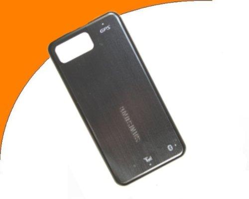 Original Samsung SGH-I900 Omnia Battery Cover Schwarz  / Samsung SGH-I900 Omnia Akkudeckel Black