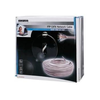 König CMP-NWF6R50S Câble FTP Cat6 Réseau en rouleau