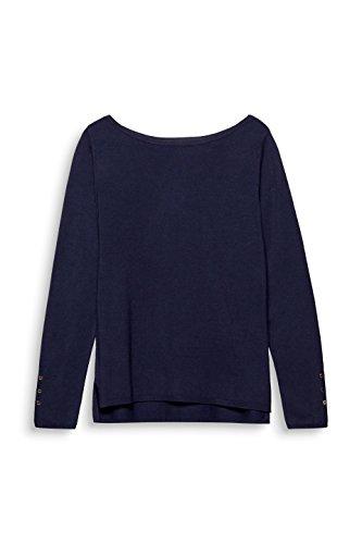ESPRIT Collection, Pull Femme Bleu (Navy 400)