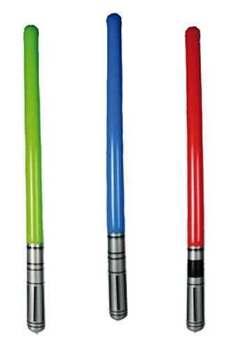 Ein aufblasbares Laserschwert (Kostüm Darth Vader Günstige)