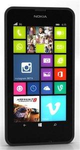 'Nokia Lumia 6308GB Nero–Smartphone, 11,43cm (4,5), 854x 480pixel, IPS, 1,2GHz, Qualcomm Snapdragon, 512MB