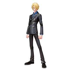 "Bandai Tamashii Nations Sanji ""One Piece"" S.H.Figuarts Action Figure (japan import) 5"
