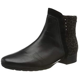 Gabor Shoes Comfort Sport, Stivaletti Donna, Nero (SCHW/Anthr.(Micro) 67), 40 EU