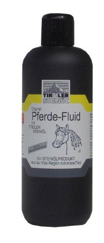 Tiroler Steinöl - Pferderepellent, 500 ml | Pferde-Fluid Fliegen- Insekten und Bremsenschutz | Tiroler Steinoel