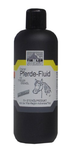 franzosenoel Tiroler Steinöl - Pferderepellent, 500 ml | Pferde-Fluid Fliegen- Insekten und Bremsenschutz