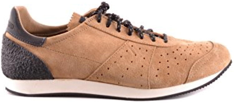 Stone Island Herren MCBI284051O Beige/Braun Wildleder Sneakers