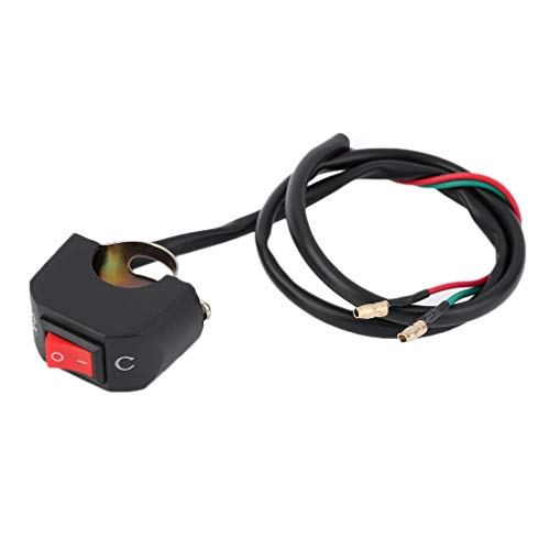 Ndier Universal Lenker Motorrad Kill Switch ON/OFF Button Connector Neu
