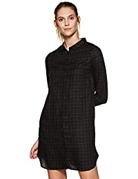 Van Heusen Woman Women's Shirt Knee-Long Dress