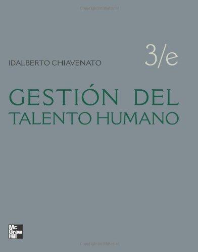 GESTION DEL TALENTO HUMANO por Idalberto Chiavenato