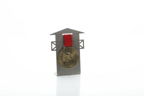 Médaille Support Limes Run rectifiée en acier inoxydable