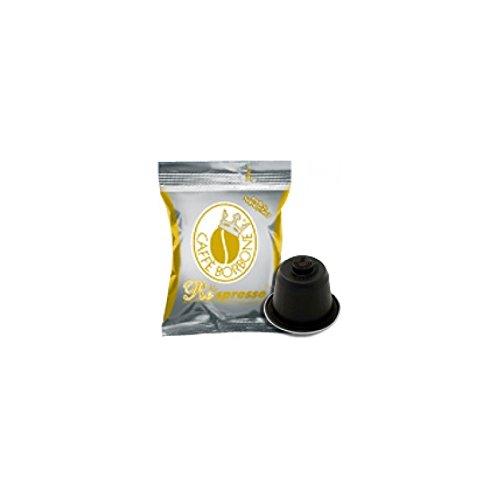 I0159 800 CAPSULE Respresso CAFFE' BORBONE MISCELA ORO compatibili NESPRESSO 215