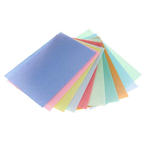 IPOTCH 10 Stücke Schaum Schaumstoff Blätter Schwamm Papier Diy Bastelbedarf - 1mm