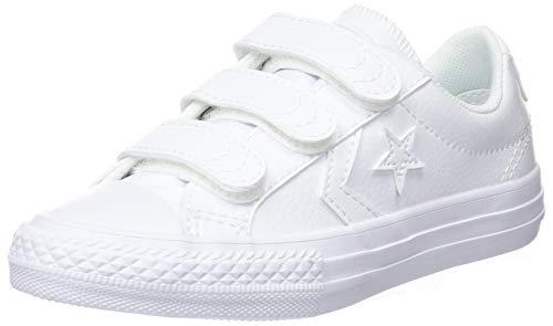 Converse Unisex-Kinder Star Player EV OX 651830C Sneaker, Weiß (White, 36 EU (Mädchen Converse Sale)