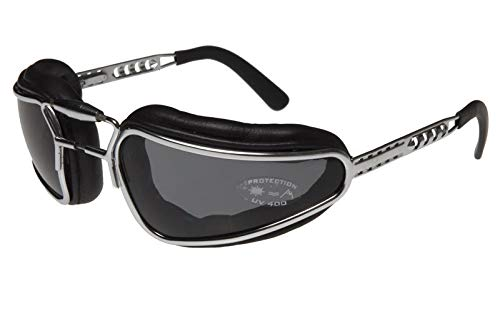 Baruffaldi Easy Rider Motorradbrille Schwarz