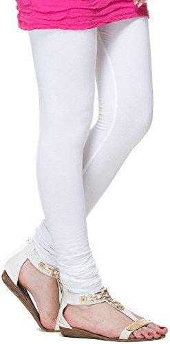 White churidar leggings for women -churidar leggings online -Best Quality White Colour(...