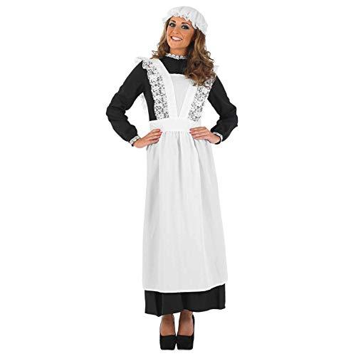 Fun Shack Damen Costume Kostüm, Maid, - Dienstmädchen Für Sie Adult Kostüm