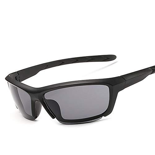 kamier Outdoor-Reitbrille, winddichte Sonnenbrille, unisex schwarz grau