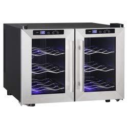 Qlima Weinkühlschrank 130 W 40 L Silber FWK 1612