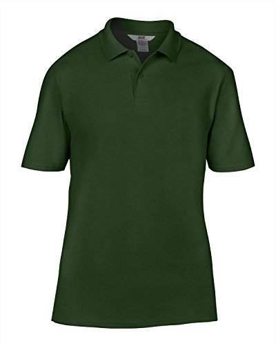 Anvil Anvil adult double pique polo Heather Grey