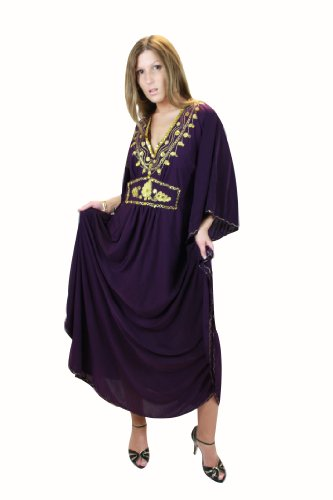 Damen Kaftan im Oriental Style, Einheitsgröße M bis -