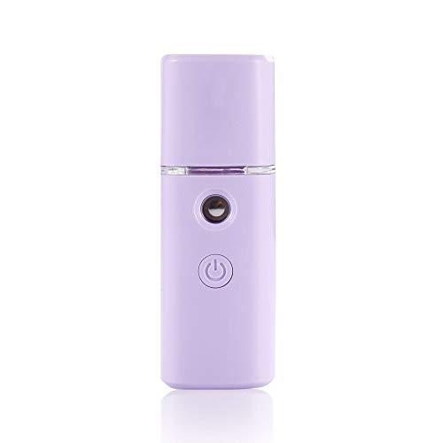 Renh Nano-Spritzgerät Handheld-Spray-Dampfer feuchtigkeitsspendende Schönheitsinstrument des feuchtigkeitsspendenden Instruments des feuchtigkeitsspendenden Instrumentes, Purpurrot -