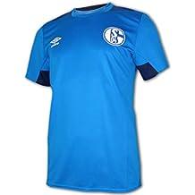 Umbro FC Schalke 04 S04 de Entrenamiento de fútbol Camiseta Camiseta de  fútbol Infantil ... 0913415e1b6df
