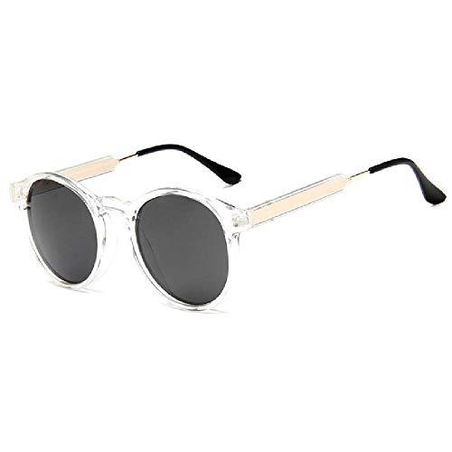 Retro Runde Sonnenbrille Frauen Männer Markendesign Transparent Weiblich Sonnenbrille Männer Oculos De Sol Feminino Lunette Soleil