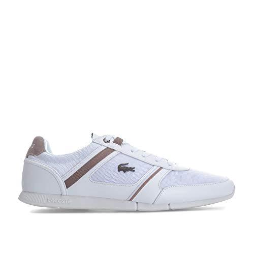 Lacoste - Zapatillas de Deporte Hombre, Blanco Blanco, 39.5 EU