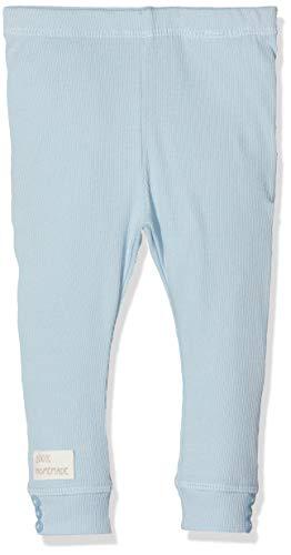 NAME IT Unisex Baby Leggings NBNDAFINI, Blau (Skyway), (Herstellergröße: 56) Baumwolle Baby-leggings