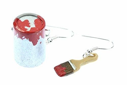 farbeimer-pinsel-set-ohrringe-farbe-lack-miniblings-maler-kunstler-malerset-rot