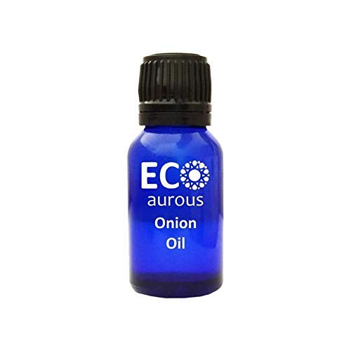 Onion Oil 100% Natural, Organic, Vegan & Cruelty Free Onion Essential Oil | Pure Onion Oil | Onion Oil for Cooking by Eco Aurous (20 L) With MSDS & COA