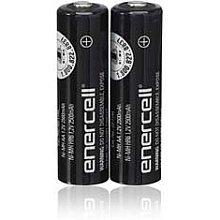 Enercell® 1,2V/2.500mAh Ni-MH AA Batterien (2er Pack)