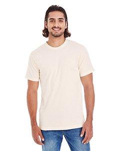 Womens Organic Jersey T-shirt (Unisex Organic Short-Sleeve Fine Jersey T-Shirt NATURAL L)