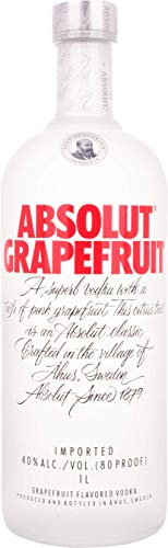 Absolut Grapefruit Flavored Vodka (1 x 1 L)