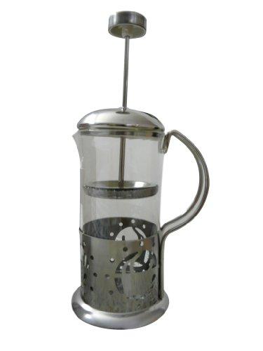 KK01 Kaffekanne Kaffeebereiter Stempelkanne für Kaffee/Tee 350 ml für Ihren Genuss