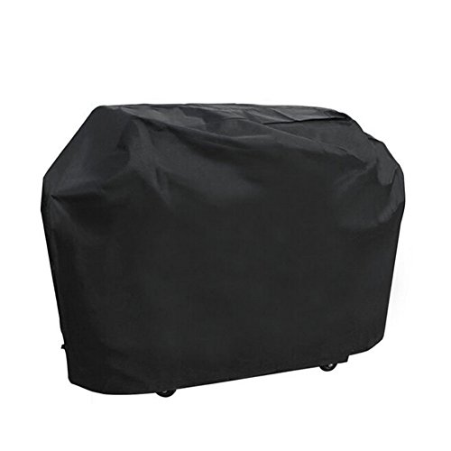 "Barbecue Cover, Heavy Duty Oxford Cloth Waterproof & Dust-proof & Anti-UV Outdoor BBQ Grill Cover (Length:145cm/57"" Width: 61cm/24"" Height: 117cm/46"" )"