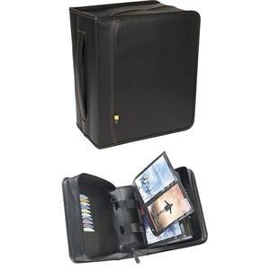 Case Logic DVB-200 DVD Binder 200-Disc Koskin Cd-wallet Case