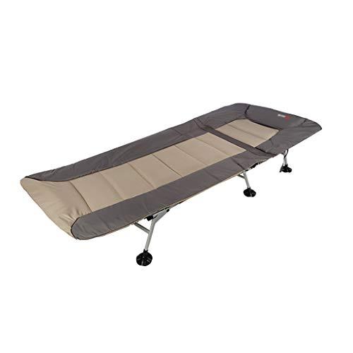 DUOER-Klappstühle Outdoor Portable Angeln Bett Stuhl Bedchair Camping Heavy Duty 6 Bein Verstellbare Beine, für Karpfenangeln Oder Camping Schlaf (Color : B)