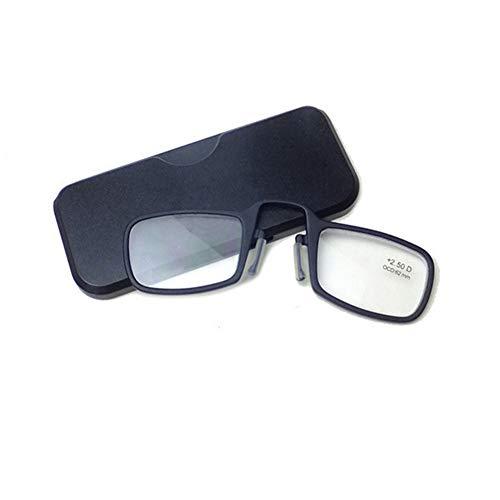 YUNCAT Gafas de lectura sin patillas graduadas para Unisex transparentes flexibles e para vista cansada 5 colores y 6 graduaciones