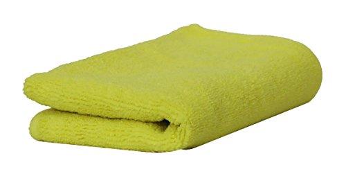 CLEANOFANT MICRO PROFI Allroundtuch GELB – Mikrofasertuch für die Reinigung und Pflege von Wohnwagen, Wohnmobil, Caravan, Reisemobil, Zubehör