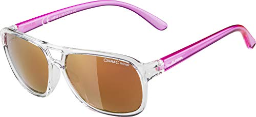 Alpina Kinder Sonnenbrille YALLA Clear-pink, One Size