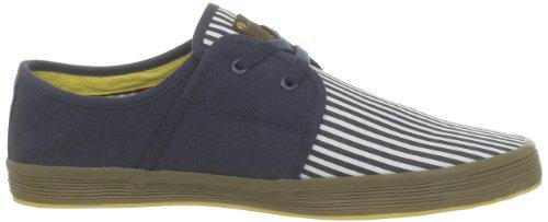 Base London Spam 2, Baskets mode homme Bleu (804 Canvas Stripe Navy)