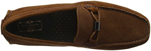 Ted Baker Carlsun 2, Mocassins Homme Marron - Brown (Dark Tan Print)