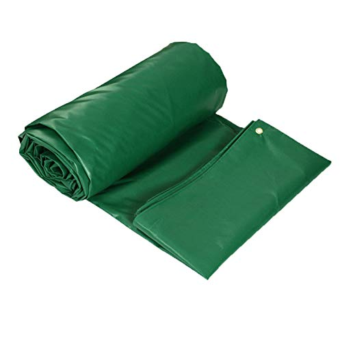 Planen Pavillon Camping Winddicht PVC-doppelseitiges Verdickungs-Regen DREI Planen-Dach-im Freienisolierung LIUDINGDING (Color : ArmyGreen, Size : 2 * 1.5)