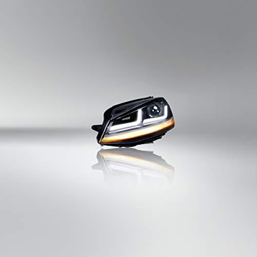 Faro OSRAM LEDriving® Golf 7 LED, edizione Chrome come sostituzione del faro alogeno, upgrade LED, LEDHL103-CM, solo per guida a sinistra (1 set completo)