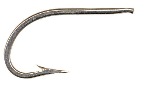 Mustad 3412DT Classic O'Shaugnessy Geschmiedete Nadelöhrchen Duratin-Haken, 25 Stück, Size 7/0 -